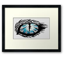 Looking into your soul Framed Print