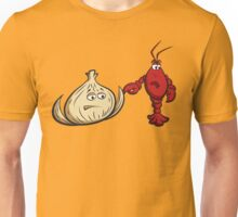 Lobster And Onions Unisex T-Shirt