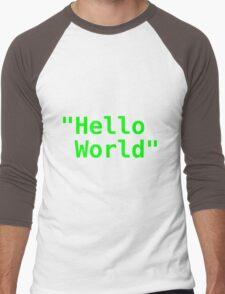 Hello world ! Men's Baseball ¾ T-Shirt