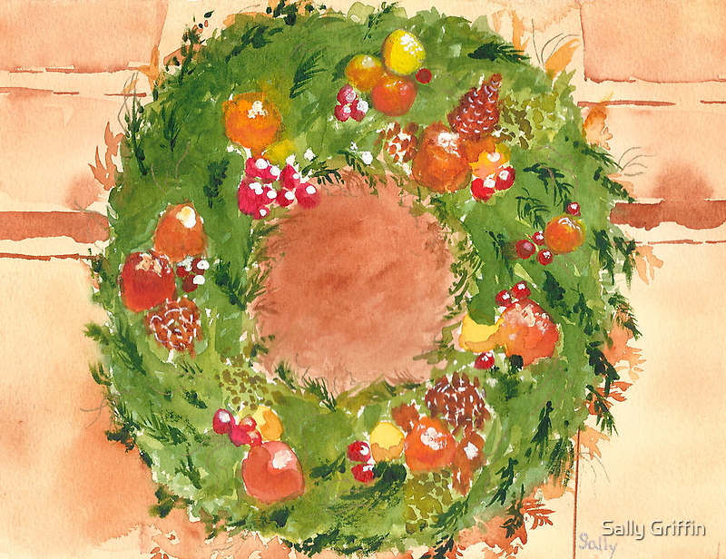 Christmas Time is Near by Sally Griffin