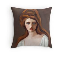 Lady Hamilton as Circe after G Romney Throw Pillow