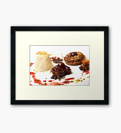 Advent Dessert Framed Print