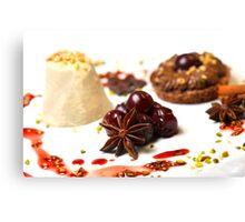 Advent Dessert Canvas Print