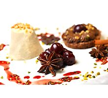 Advent Dessert Photographic Print