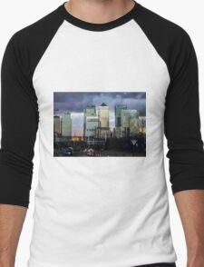 Canary Wharf Men's Baseball ¾ T-Shirt