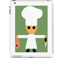 Chef Cartoon iPad Case/Skin