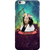 Screw Beautiful, I'm Brilliant iPhone Case/Skin