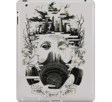 Ecology vs Tecnology iPad Case/Skin