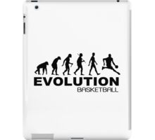 Evolution of basketball sport nba geek funny nerd iPad Case/Skin