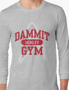 Dammit Gym 1965 Long Sleeve T-Shirt