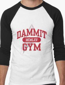 Dammit Gym 1965 Men's Baseball ¾ T-Shirt