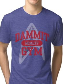 Dammit Gym 1965 Tri-blend T-Shirt