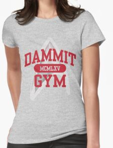 Dammit Gym 1965 Womens Fitted T-Shirt