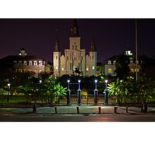 St. Louis Cathedral - New Orleans, Louisiana Photographic Print