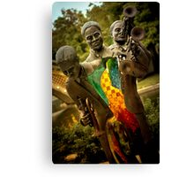 Trumpet Player - New Orleans, Louisiana Canvas Print