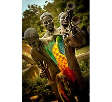 Trumpet Player - New Orleans, Louisiana Photographic Print