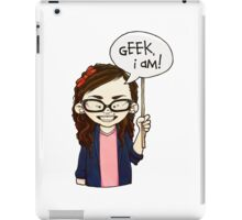 Geek I am ! iPad Case/Skin