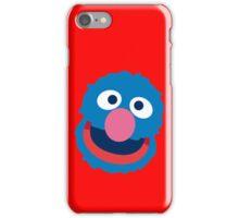 Grover head geek funny nerd iPhone Case/Skin