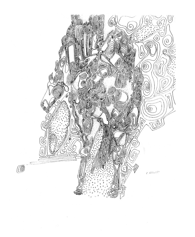 Journey - abstract by Regina Valluzzi