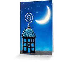 Night House Greeting Card