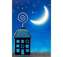 Night House Photographic Print