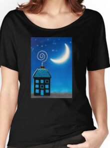 Night House Women's Relaxed Fit T-Shirt