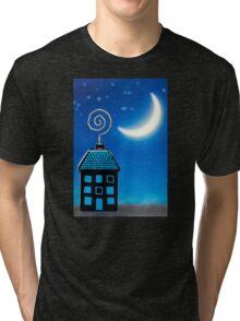 Night House Tri-blend T-Shirt