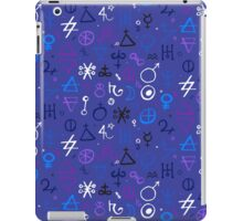 Witchcraft mystic signs iPad Case/Skin
