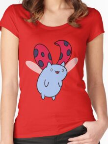 Flying Catbug Women's Fitted Scoop T-Shirt
