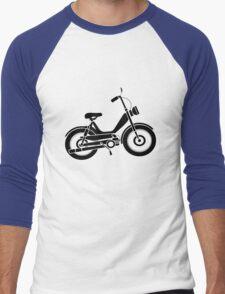 Moped bike cycle Fun geek funny nerd Men's Baseball ¾ T-Shirt