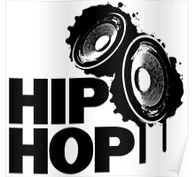 Hip-Hop White Edition Poster