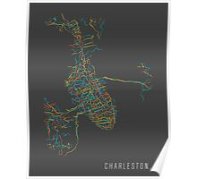Charleston, SC - City Map Poster