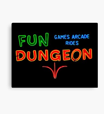 Fun Dungeon Canvas Print