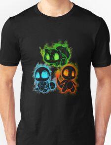 Pokemon squad 1st generation - black T-Shirt