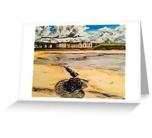 Broad haven Beach Wales Greeting Card