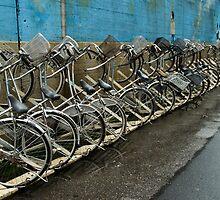 Tokyo Bicycles by Skye Hohmann