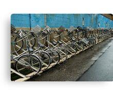 Tokyo Bicycles Canvas Print