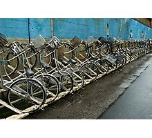 Tokyo Bicycles Photographic Print