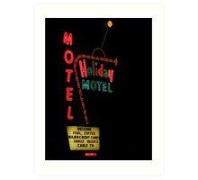 Holiday Motel Art Print