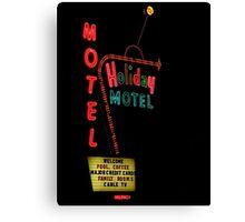 Holiday Motel Canvas Print