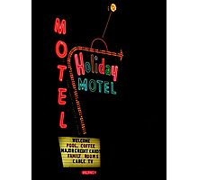 Holiday Motel Photographic Print