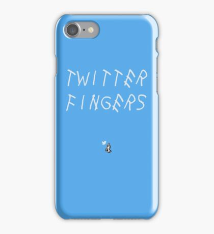 Twitter Fingers iPhone Case/Skin