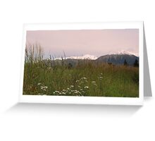 New Zealand - South Island Greeting Card