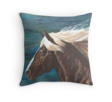 Wind Spirit Throw Pillow