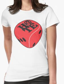 Red Dice Womens Fitted T-Shirt
