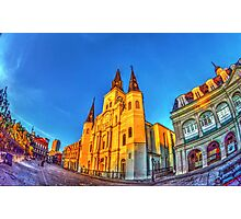 Chartres Street by Sunrise Photographic Print
