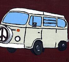 Beige VW Camper by vschmidt