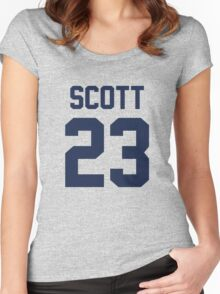 One Tree Hill - Nathan's Jersey Women's Fitted Scoop T-Shirt