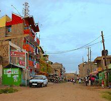 Street in Mwiki - Nairobi, KENYA by Atanas Bozhikov Nasko