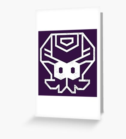 OCTOCONS Greeting Card